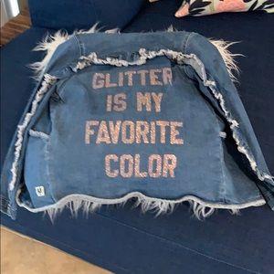 Adorable denim jacket for kids